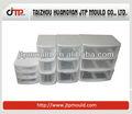 Lindo design pequeno tamanho da gaveta molde, caixa de armazenamento do molde