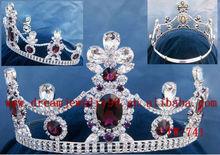 fashion ruby wedding tiara crown