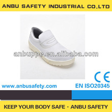 Chef Cooking Indoor Active Personal Protection White Kitchen Shoes WIth Anti-slip