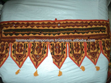 brown toran wall hangings indian
