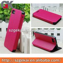 for blackberry z10 flip leather case cover