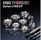 Replaceable head end mill and carbide cutting tool made in japan OSG-PHOENIX