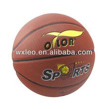 Professinal official size basketball,cheap rubber basketball