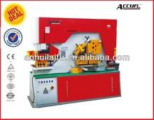 Barra chata máquina metalúrgicos perfuração e máquina de estampagem