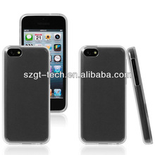 Clear tpu case for iphone 5C , for apple iphone 5 gel tpu mobile phone case