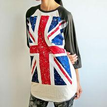 Top fashion girl t shirt printed design