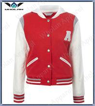 2014 spring cheap fashion baseball jackets varsity jackets for girls