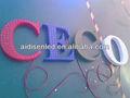 Lettres en métal pour la décoration led signe dc 5v ip67 imperméable à l'eau