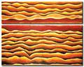 Home decor - de alta qualidade modern fácil pinturas abstratas ondas do mar