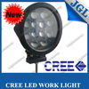 7inch 60w LED light 4x4 off road, 4WD AUTO 60w led driving headlight CREE 5W LED motorcycle spot light