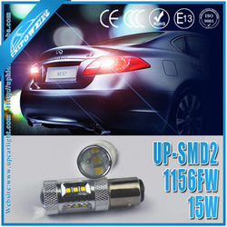 Newest 15W smd led brake light bulb / turn signal brake light / smd led car brake light 1156(BA15S/BAU15S)/1157(BAY15D/BA15D)