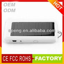 1300mah-2600mah Portable Solar Power for mobile phones/MP3/MP4/iPad/for iPhone/digital camera