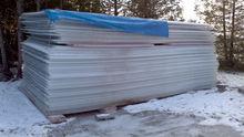 7 foot x 19 foot triple wall polycarbonite 16mm