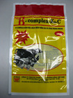 Flexible plastic film packages
