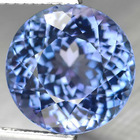 10.18 CT IF NATURAL INTENSE ROYAL BLUE TANZANITE GEMS