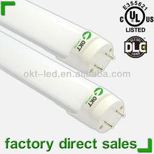 2013 Best seller T8 LED Tube Lights with External driver! DLC UL Listed 2ft 4ft 5ft 28w fluorescent tube light