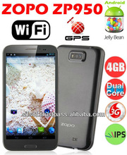 ZOPO ZP950 Leader Max 1GB+4GB Phone 5.7 Inch HD IPS Screen Phone MTK6577 Dual-core Android 4.1 3G 8.0MP-Gray
