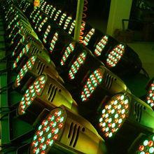 Professional stage 54*3w RGBW Led Par Light (waterproof) Phaton 5r 200w beam led light stage curtain rgb led par light