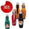 fashionable neoprene bottle cooler with zipper