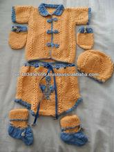 Set Handmade knitted Baby Alpaca clothing Peru