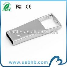big keyhole stainless steel usb memory storage