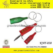 Carabiner pocket knife.