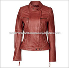 Best Quality New Design Fashion Lady Leather Jacket