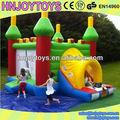 La diversión del partido mini combo, juego inflable puente, little tikes juguetes