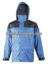 Fashion men's rain jacket ,raincoat ,100% windproof & waterproof rain parka jacket for wholesale and OEM service
