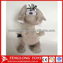 Children toys funny plush elephant toys with big eyes