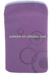 purple waterproof cell phone bag