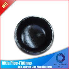 tubular q345 JIS caps large cap forged pipe fittings