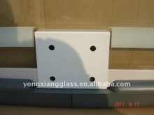Protable Organic Glass Basketball Backboard Removeable basketball stand fiberglass basketball backboard