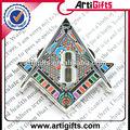 пользовательских эмали металла масонских контактный значок