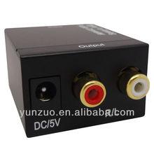 Optical Coax to Analog RCA