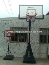 All Alumimum Frame Tempered&Insulation Glass Basketball Backboard Basketball Backboard