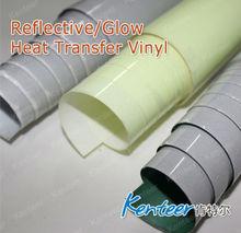 PU Heat Transfer Glow in Dark Vinyl/ Glow in the Dark Clothes