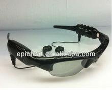 HD video recording sunglasses camera mini MP3 player sunglasses
