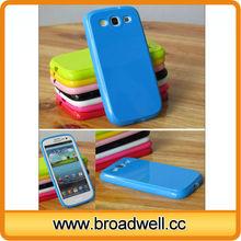 Soft TPU Plain Case Unique Phone Cases for Galaxy S3