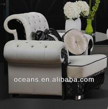 living room sofa set,leather sofa set ,classic luxury living room sofa OCS-112A