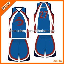 new style league basketball jersey and shorts