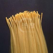 100% polular blond color human hair extension pre bonded quality i tip hair