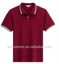 2013 Custom Logo Men's Fashion Cotton Polo T-Shirts