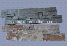 natural rock stone exterior wall siding