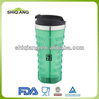 450ml stainless steel travel mugs with leakproof push lids