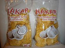 hand fried potato chips