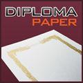 de alta calidad a4 tamaño de papel de color blanco para diploma certificado