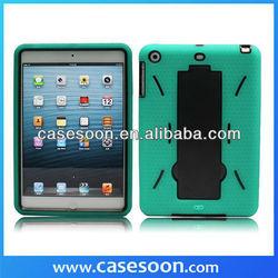 Impact Armor Rugged Protector Cover Case KickStand for Apple iPad Mini,for ipad mini kickstand case,Robot case for ipad mini