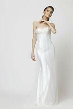 Sexy white wedding dress