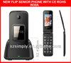 "new 2.4"" dual sim flip big button senior telephone sos phone"
